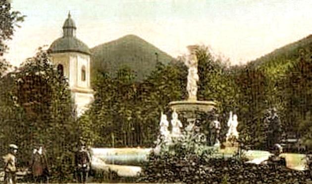 Fântâna Franz Joseph, în 1898