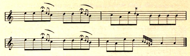Continuarea cântecului rutean, p. 572
