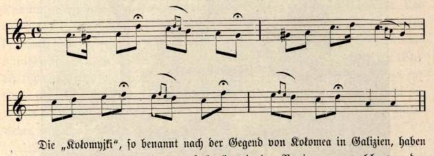 Kolomeika, iarăşi în alt tempo, p. 570