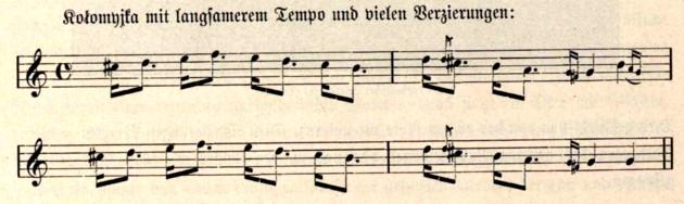 O Kolomeika ruteană, p. 570