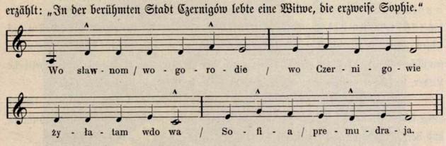 Cantec rutean din Cernigow p 567