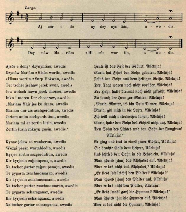 Cantec rutean religios Aleluia p 480