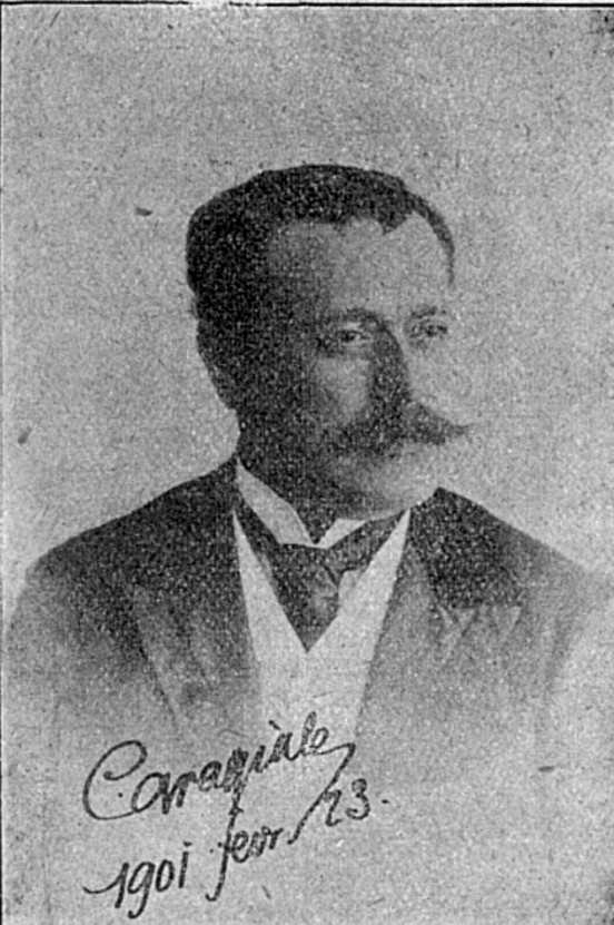 Caragiale foto 1901 Calendarul literar si artistic 1909 p 51