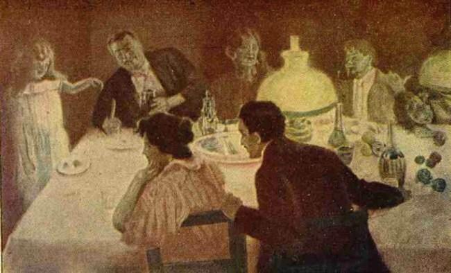 Crăciun, în Italia - Realitatea ilustrată din decembrie 1929