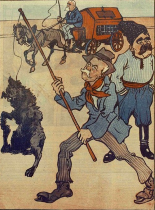 Caricatura FURNICA 1911 a