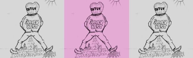 Caricatura de Ion Dragusanul triplata