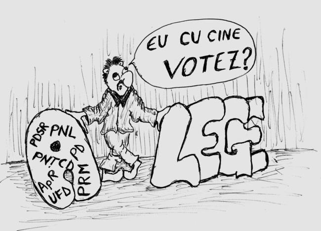 Caricatura de Ion Dragusanul