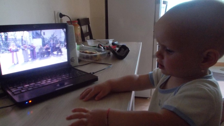 Cea mai tânără fană ZICĂLAŞII: Carina-Ioana - 1 an