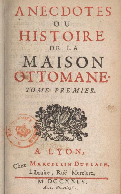 Carte Marcellin Duplain 1724