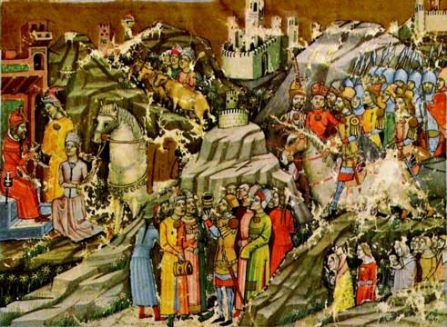 Carte invazia maghiarilor