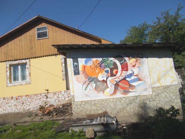 Ipoteştii Sucevei. Casa pictorului Nicolae Crasi