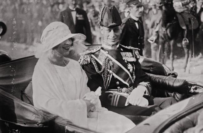 GALLICA: Căsătoria Regelui Serbiei cu Prinţesa Elena, 8 iunie 1922