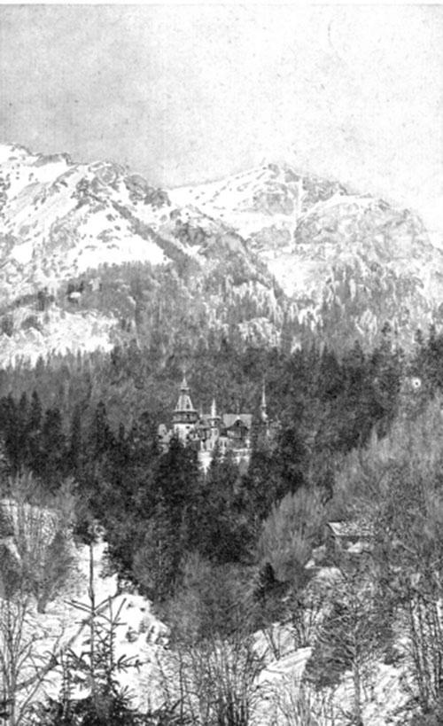 Castelul Peleș LUCEAFĂRUL 1 oct 1911