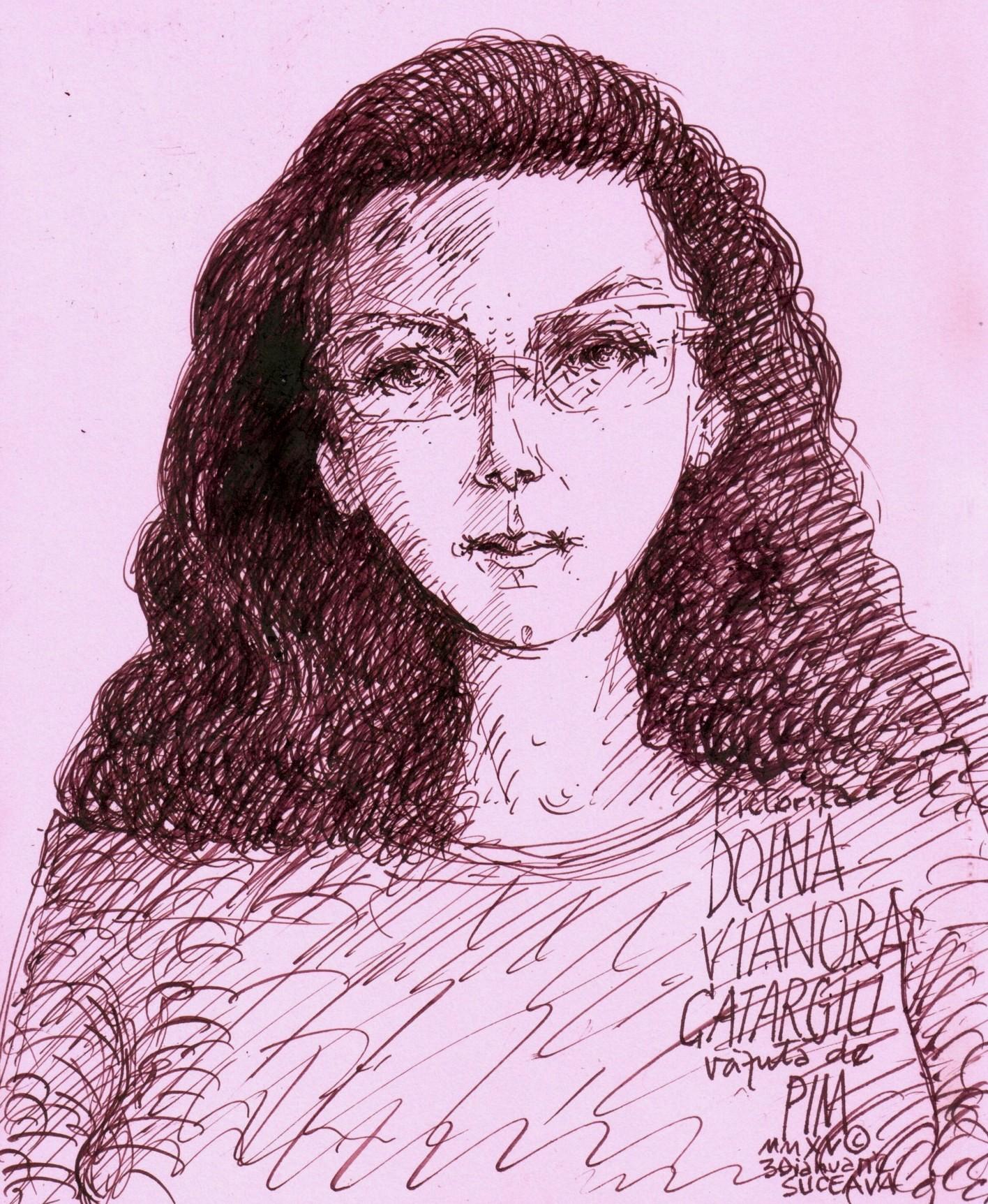 Doina Catargiu, văzută de PIM