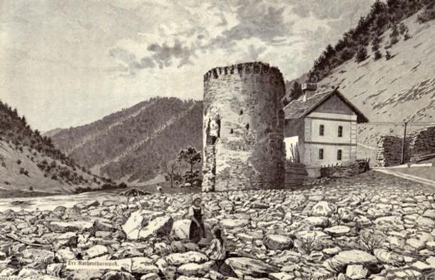 Ruina unei cetăţi transilvane