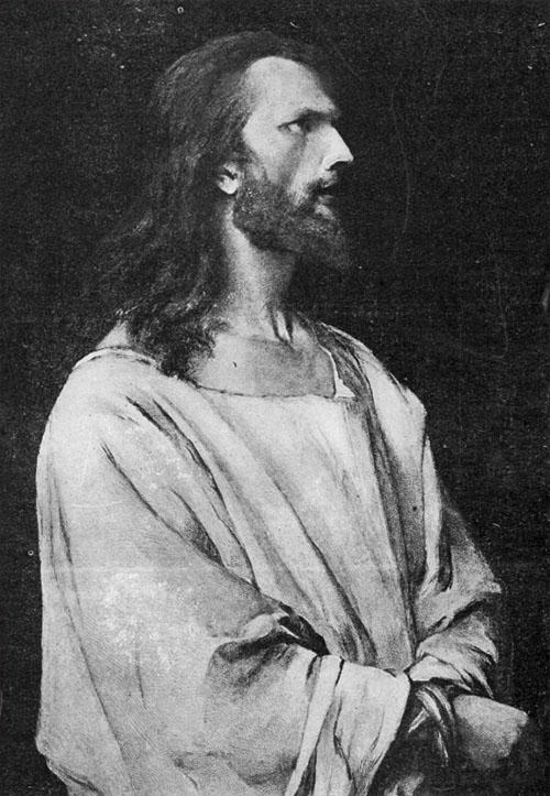 Christos inaintea lui Pilat M Munkacsy LUCEAFARUL 1 1903