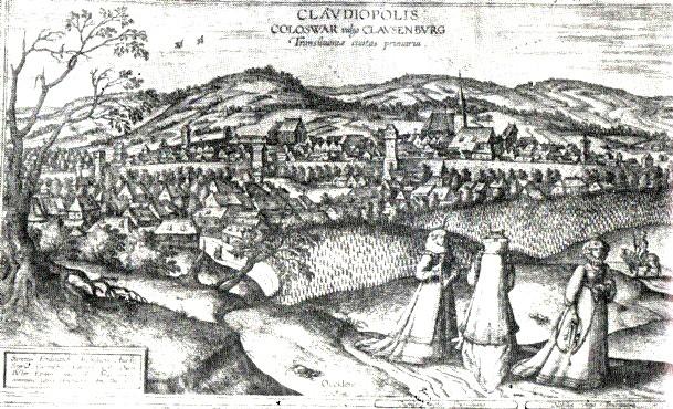 Cluj, în 1617