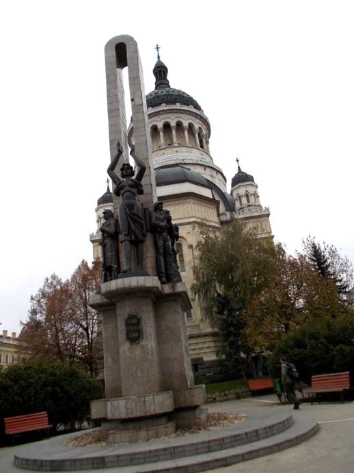 Monumentul Eroilor Unirii