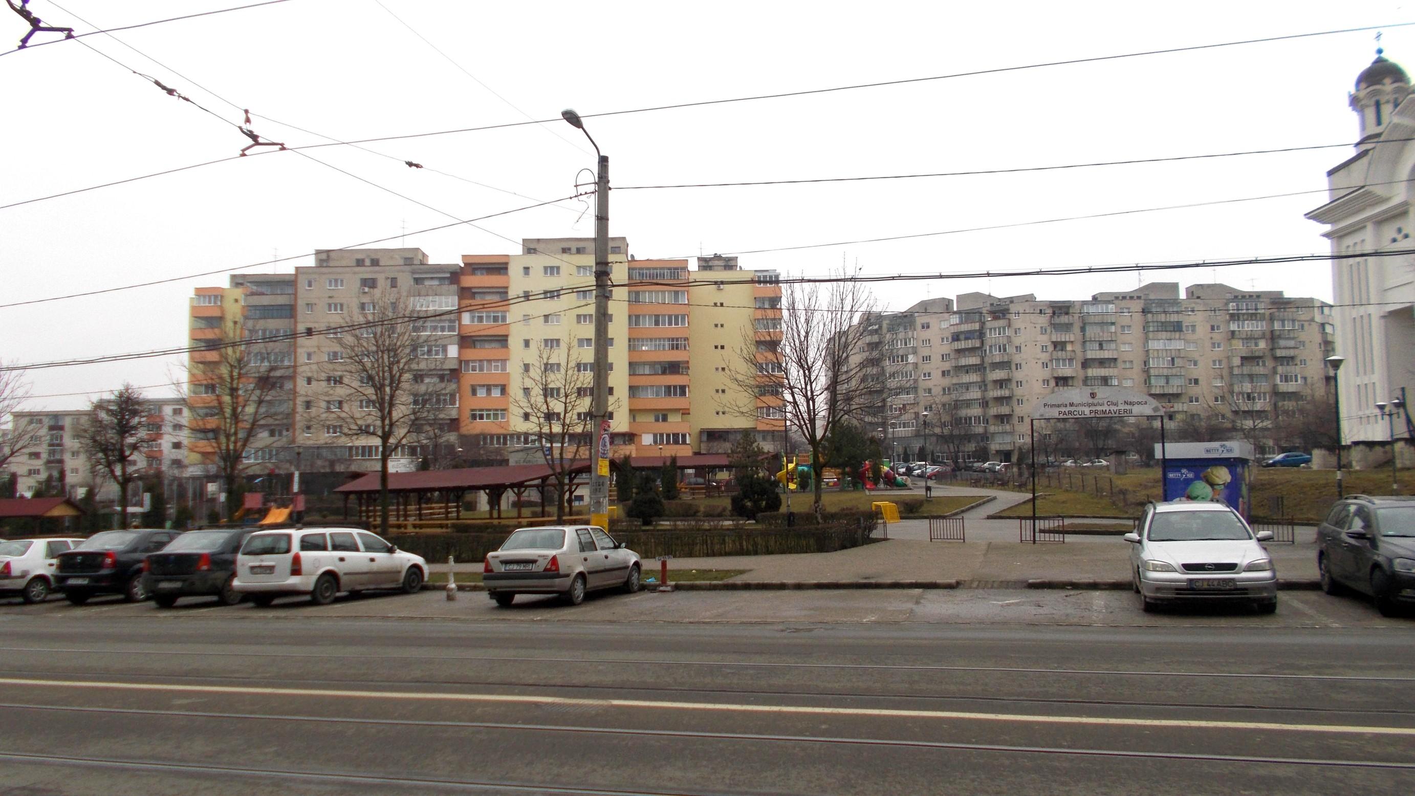 Cluj-Napoca: Nici un spaţiu fără loc de joacă