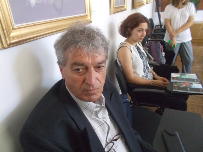 Constantin Horbovanu la Biblioteca Bucovinei