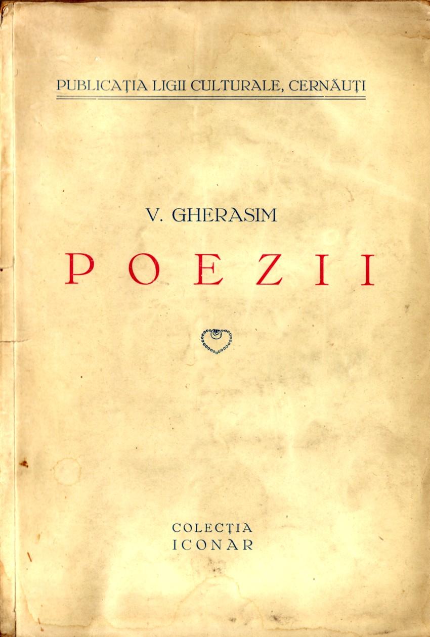 Singura broşură cu poezie a maestrului lui Lucian Blaga