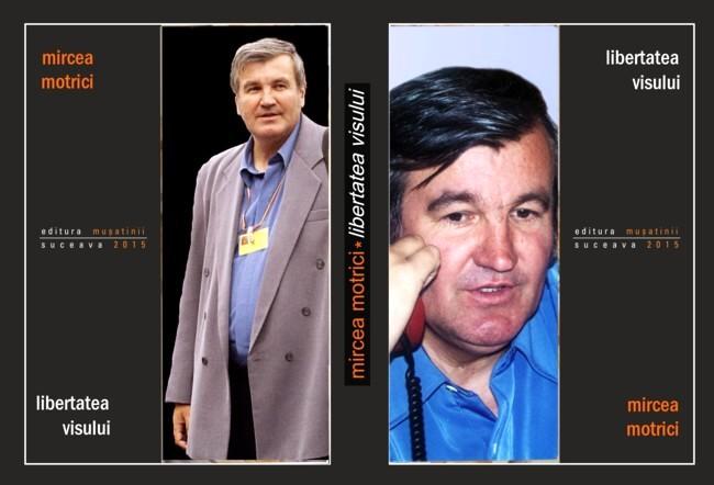 Schiţa copertei antologiei lirice de autor Mircea Motrici