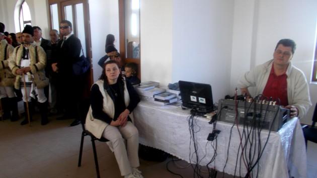 Corina Scîntei şi Dănuţ Lungu, colegii mei de la Centrul pentru Conservarea şi Promovasrea Culturii Tradiţionale Suceava
