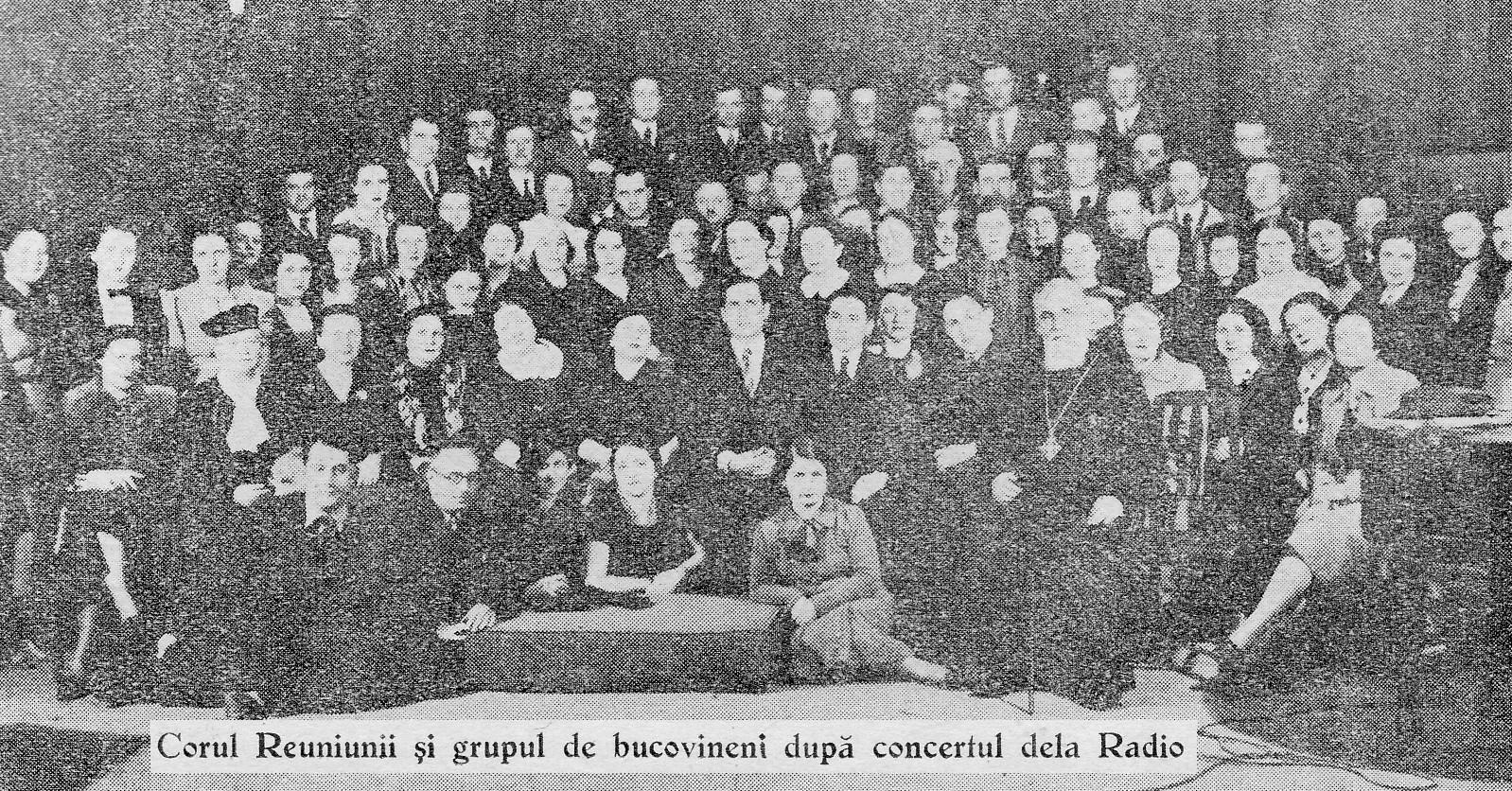 Corul Reuniunii la Radio