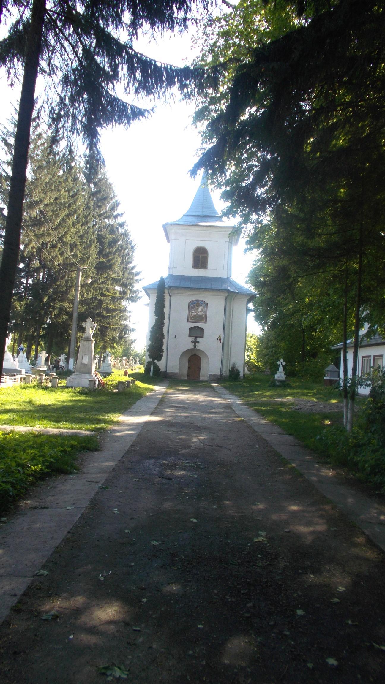 Biserica Sfântul Gheorghe din Costâna, construită în 1811-1812 de George şi Ioan de Cărste