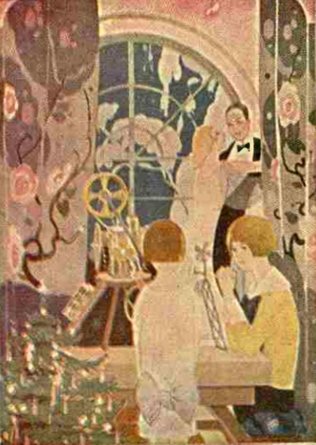 Crăciun în 1929 - Realitatea ilustrată