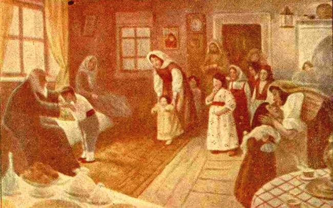 Crăciun, în Letonia - Realitatea ilustrată din decembrie 1919