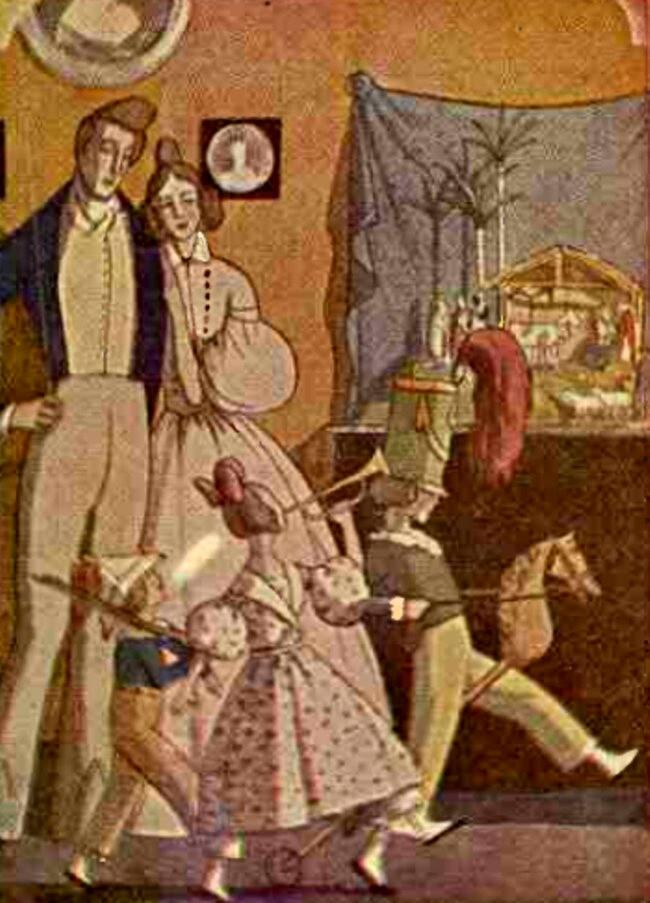 Crăciunul de altădată - Realitatea ilustrată din decembrie 1929