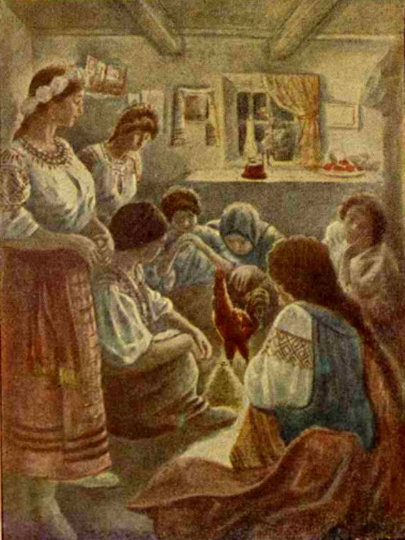 Craciunul in Ucraina REALITATEA ILUSTRATA 1929
