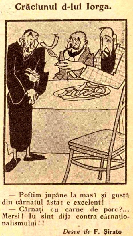 Craciunul lui Iorga FURNICA 1912