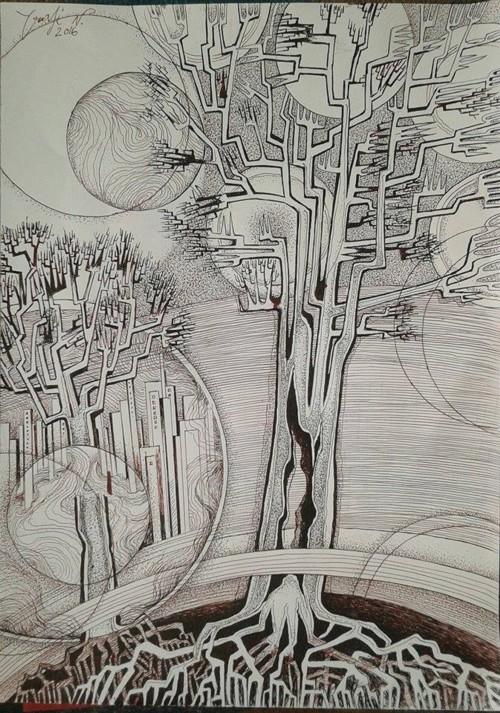 Desen de Nicolae Crasi