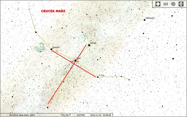 Cygnus sau Crucea Mare (Constelaţia Lebedei)