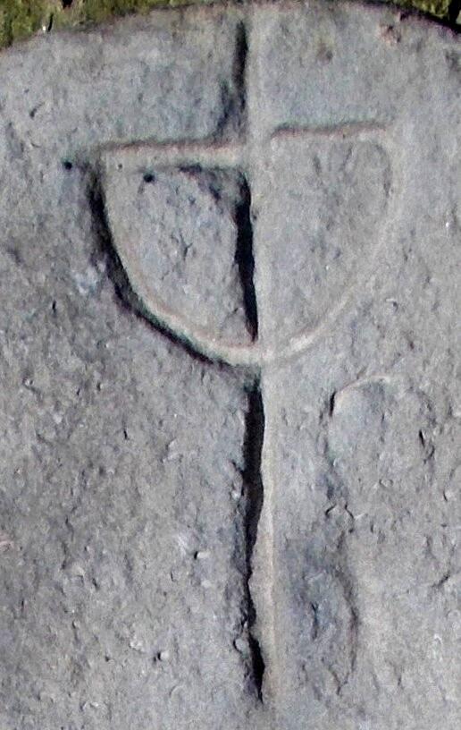 Herbul cu cerul echinocţial, de pe cruce