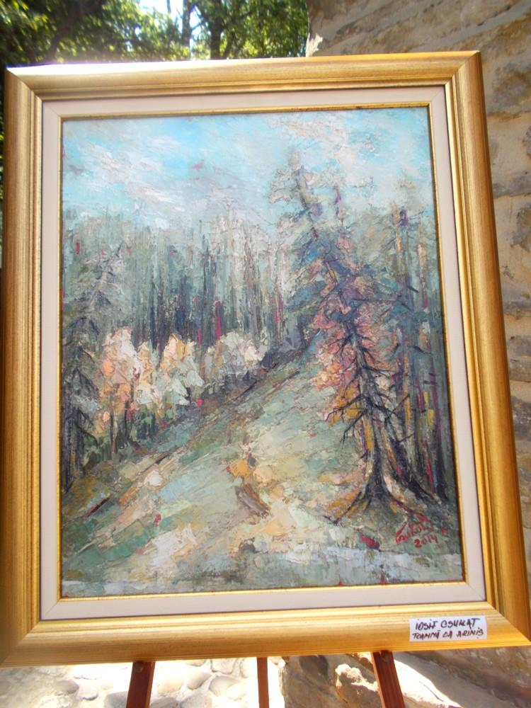 Toamna, la Ariniş - tablou de Iosif Csukat