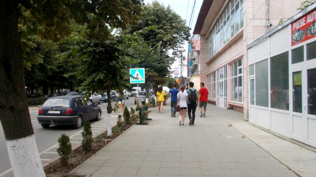 Prin cochetul orăşel Darabani