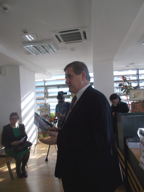 """Managerul Centrului Cultural """"Bucovina"""", Viorel Varvaroi"""