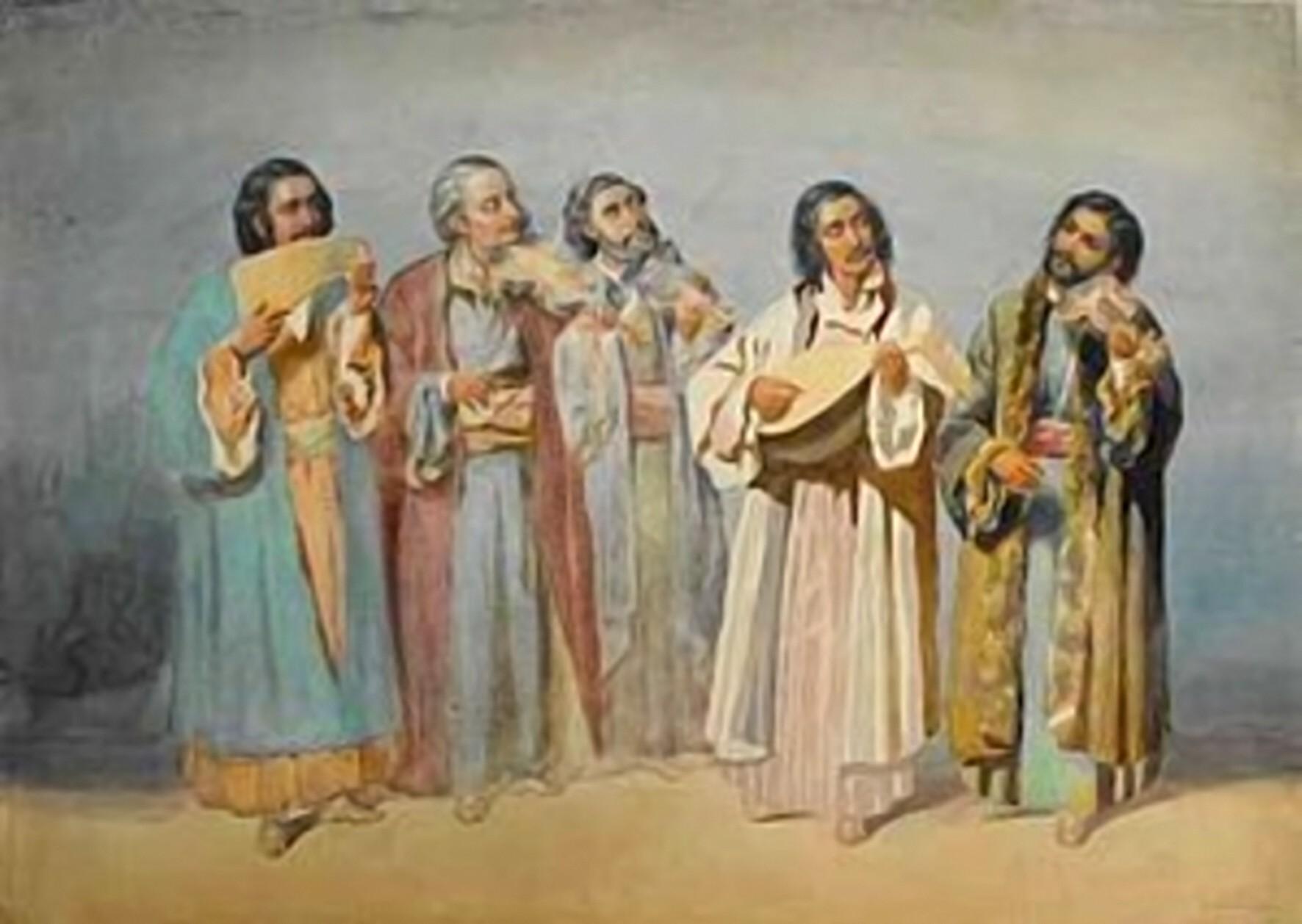 Theodor Aman: Taraful lui Ionică Ochialbi