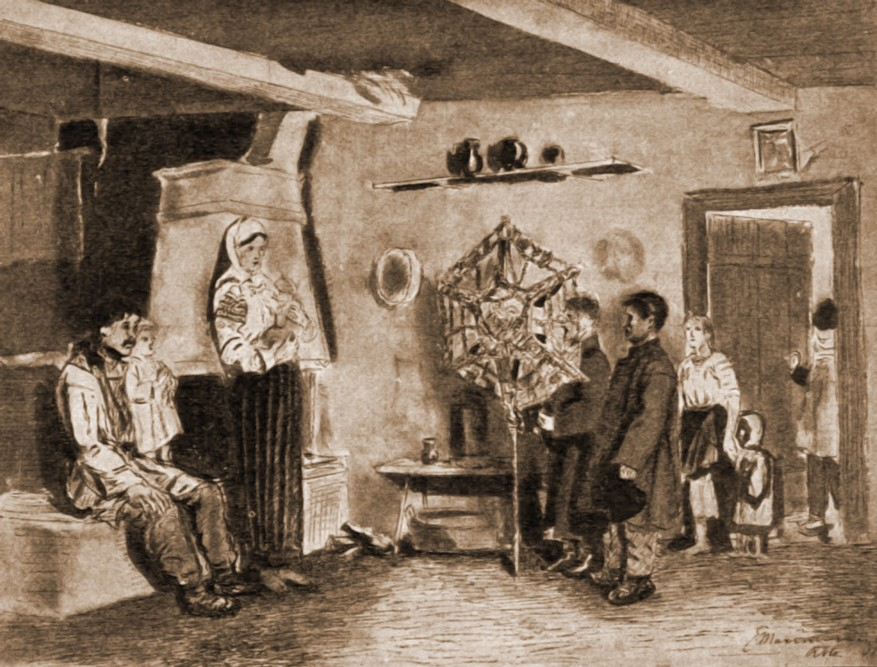 Cu steaua, la români – de Mattias Adolf Charlemont