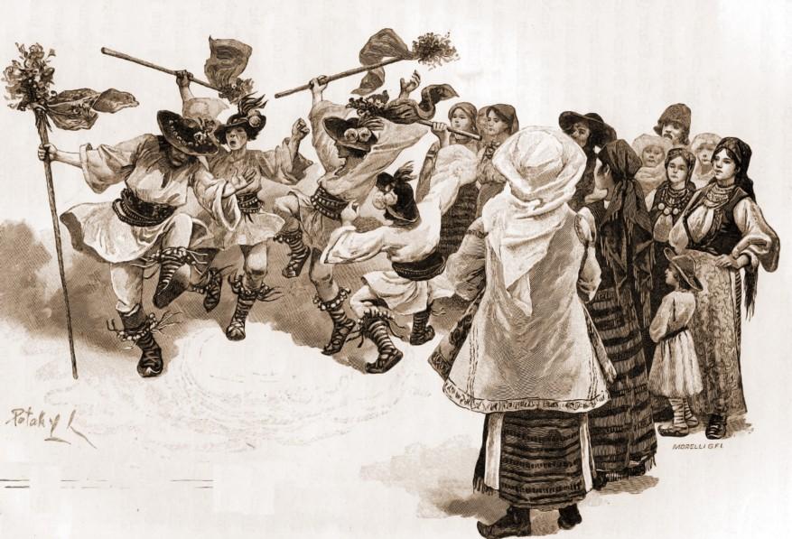 Căluşul emigranţilor din Năsăud