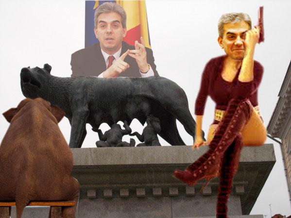 Eugen Nicolaescu: Când văd lupoaica hrănind pruncii, mă-ntreb de ce nu face la fel România cu bebeluşii ei din guvern?