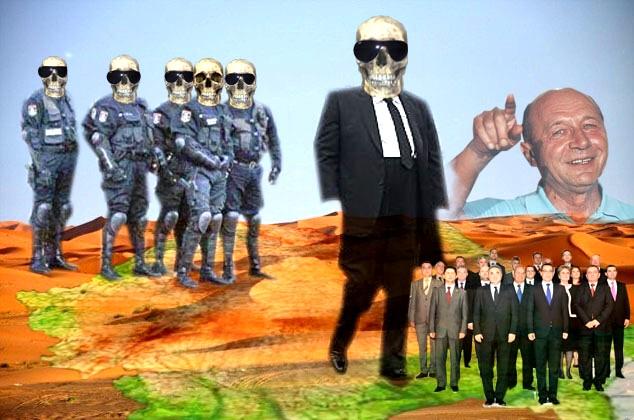 Traian Băsescu: Şo pe ei, vitejii mei!