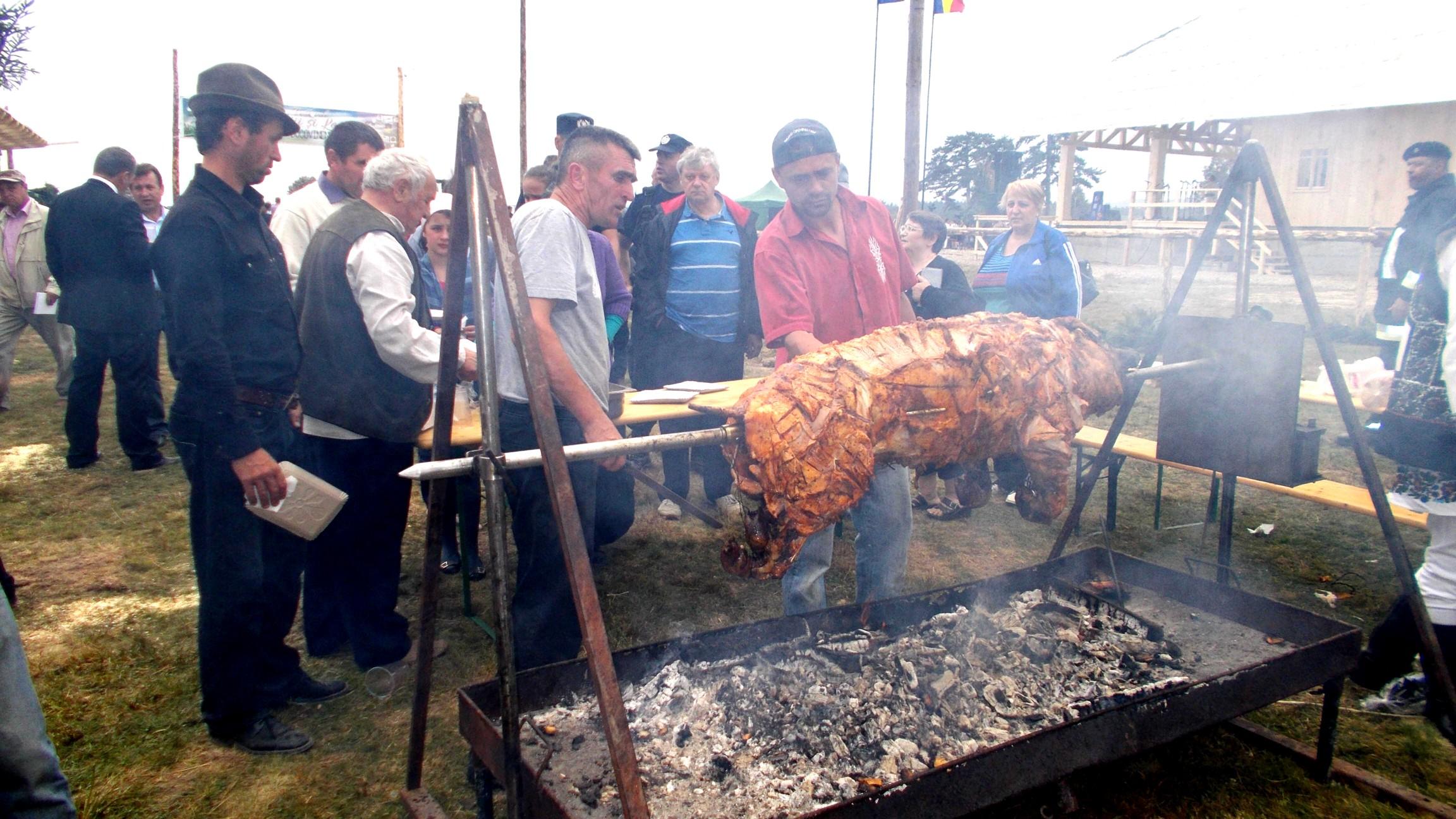 Minunăţia de porc la proţap
