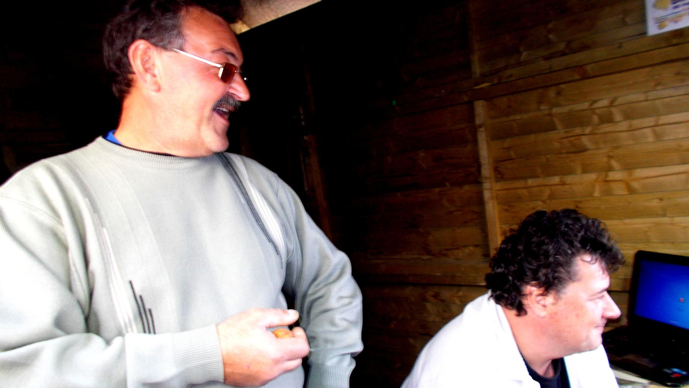 Augustin Georgescu şi Dănuţ Lungu