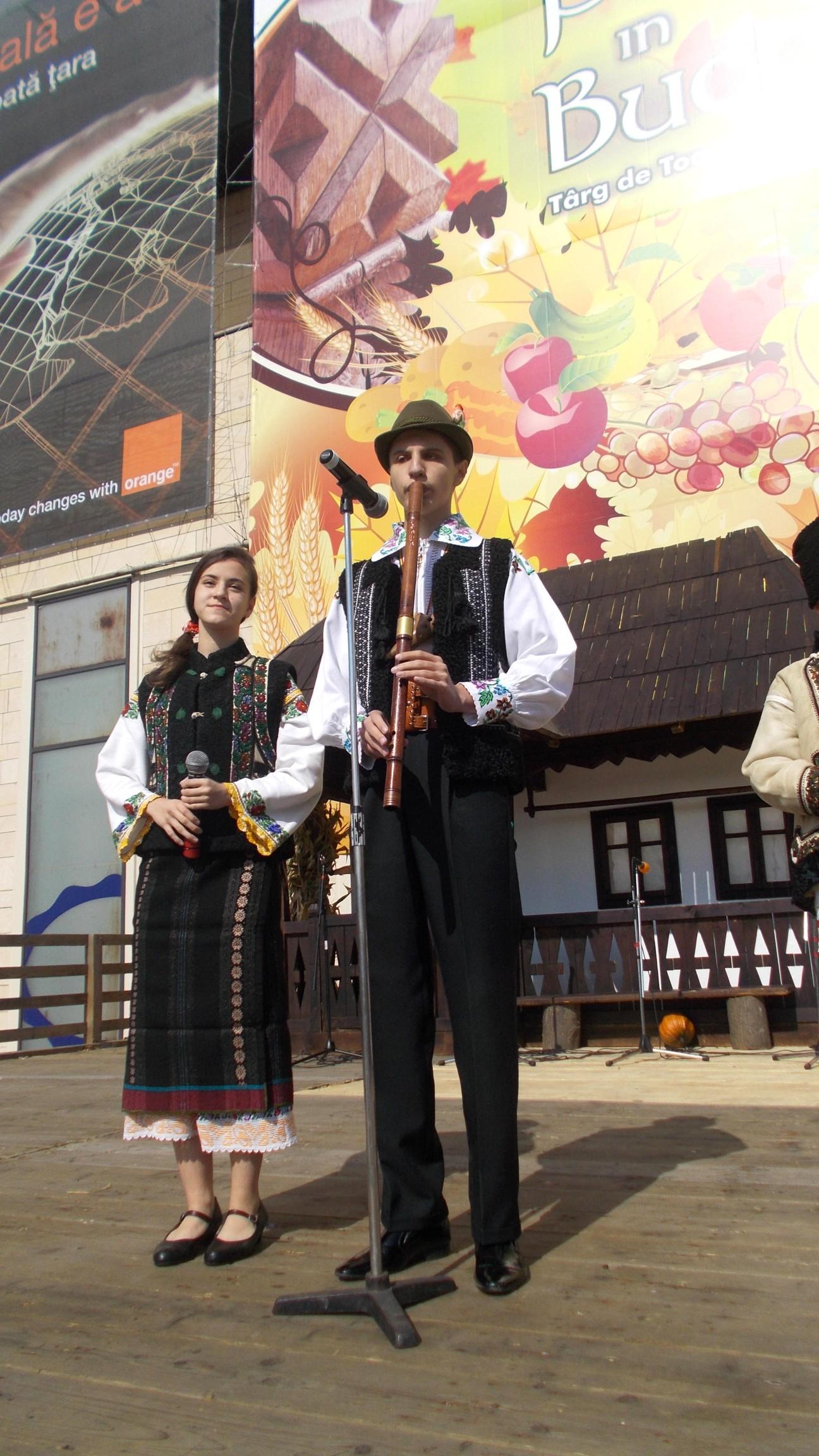 Alexandru Cozaciuc şi Nicoleta Afrăsânei