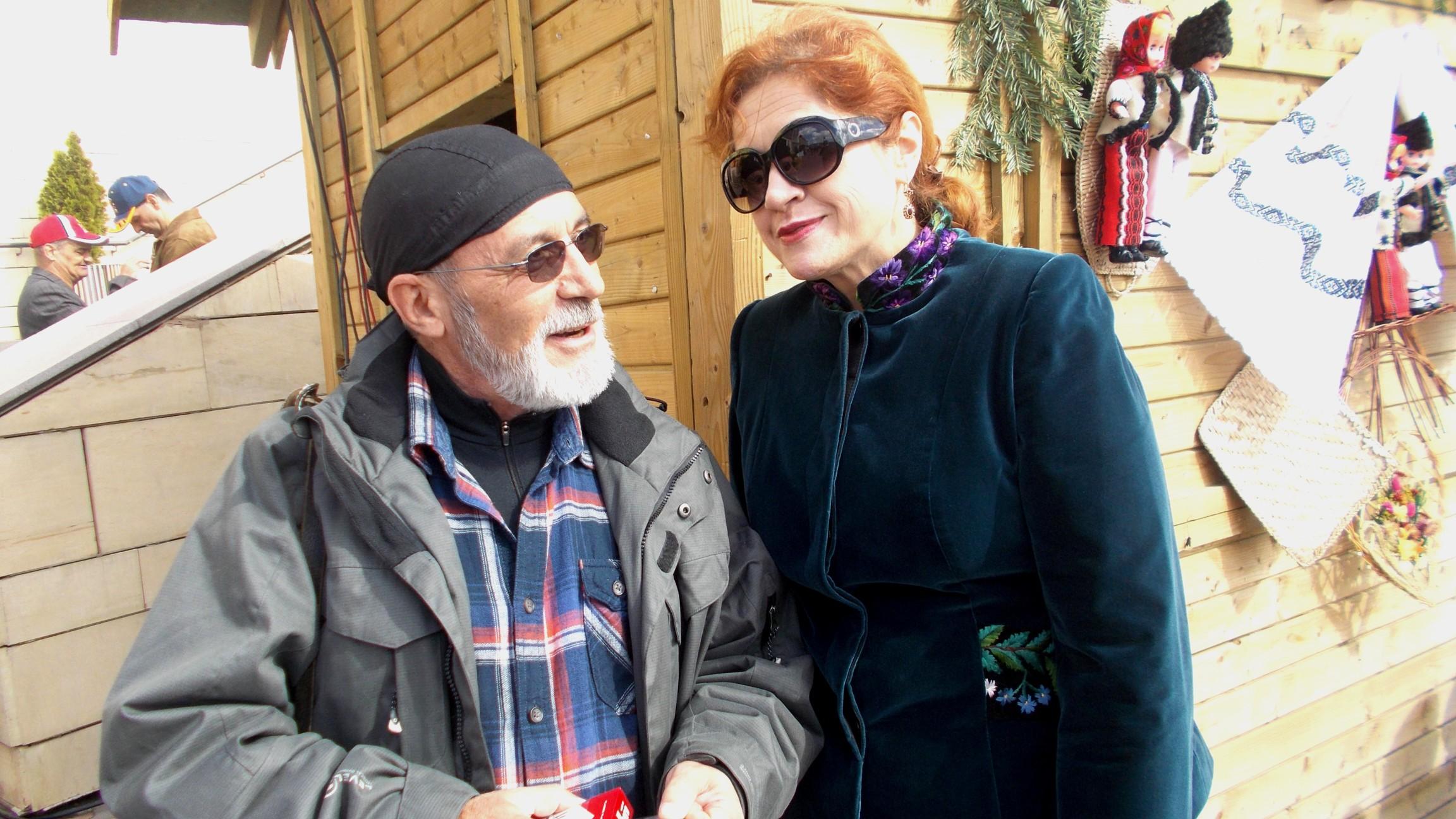 Victor Rusu, confirmându-şi statutul de iubăreţ al femeilor înalte şi frumoase