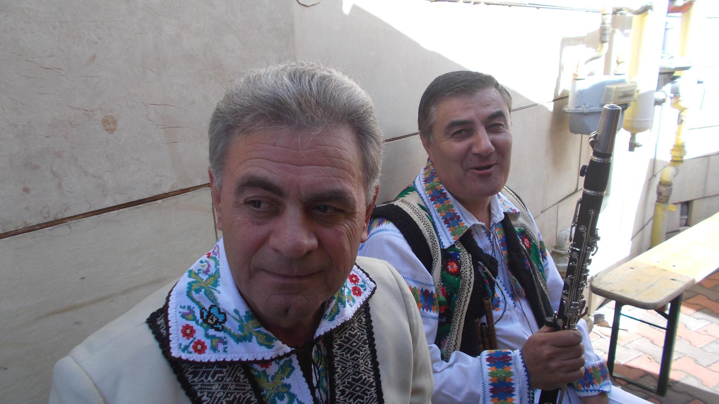 Viorel Leancă şi Leonard Zamă
